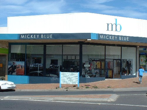 The Mickey Blue Shop